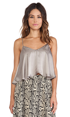 Show Me Your Mumu Charlie Crop Top in Silverdollar