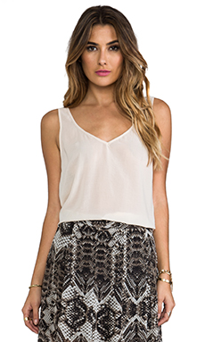 Show Me Your Mumu Kelsey Tank in Cream