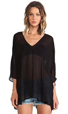 Show Me Your Mumu Shook Tunic in Black