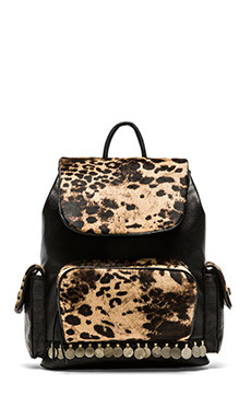 Simone Camille The Backpack in Jaguar Print
