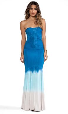 sky Galenka Dress in Blue