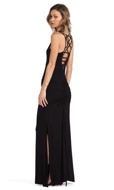 sky Kora Dress in Black