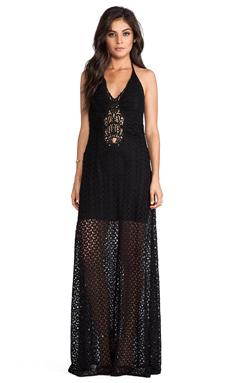 sky Kosa Dress in Black
