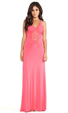 sky Seikol Dress in Strawberry