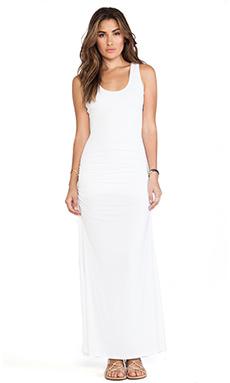sky Maram Maxi Dress in White
