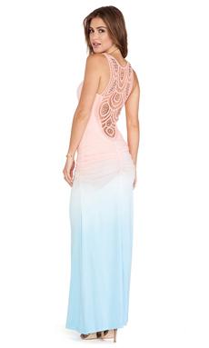 sky Marianne Maxi Dress in Peach