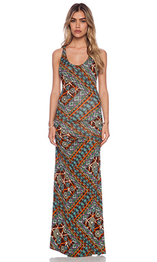 sky Kobie Maxi Dress in Orange