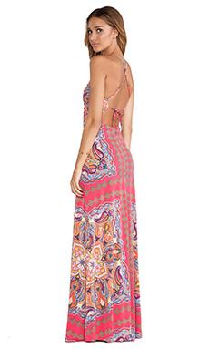 sky Kumi Maxi Dress in Pink