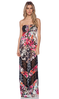 sky Anniston Maxi Dress in Pink