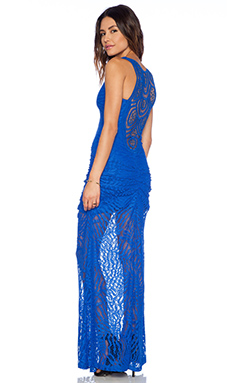 sky Netis Maxi Dress in Royal
