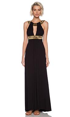 sky Neginoth Maxi Dress in Black