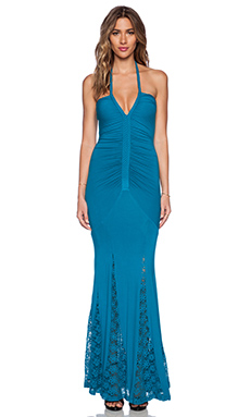 sky Onyda Maxi Dress in Teal