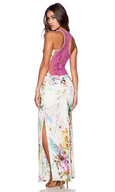 sky Pinquan Crochet Maxi in Floral