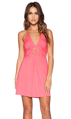 sky Conventina Dress in Strawberry