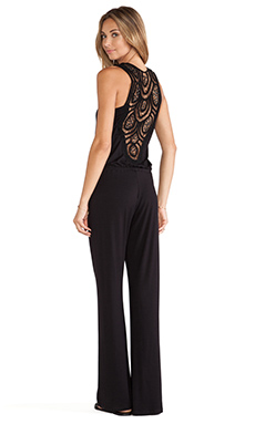 sky Narella Jumpsuit in Black