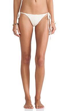 sky Isla Bottoms in Ivory