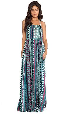 Somedays Lovin Liar Liar Printed Maxi Dress in Multi