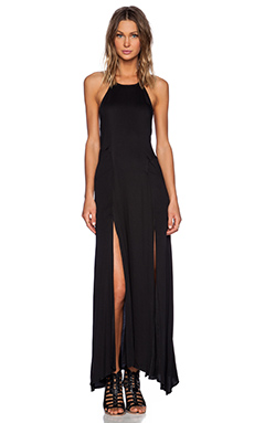 Somedays Lovin Young Guns Maxi Dress in Black