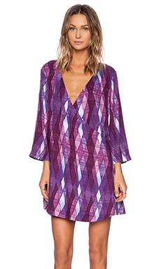 Somedays Lovin Seven Chances Kimono Dress in Multi