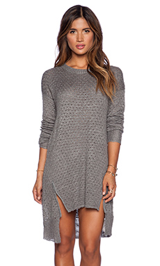 Somedays Lovin Boulder Dash Jumper Dress in Charcoal