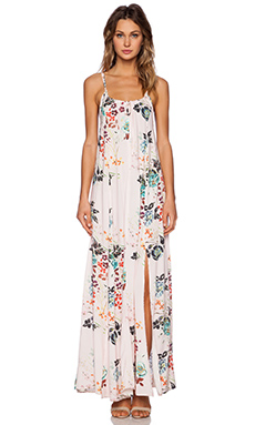 Somedays Lovin Golden Fields Floral Maxi Dress in Multi