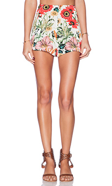 Somedays Lovin Bella Floral Flippy Short in Multi