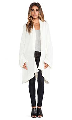 Somedays Lovin Pretender Knit Kimono Cardi in White