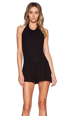 Somedays Lovin The Duke Playsuit in Black