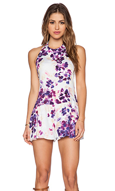 Somedays Lovin Lonely Floral Halter Jumpsuit in Multi