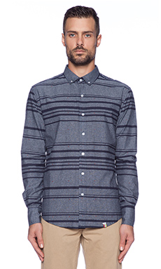 SLVDR Viper Button Down in Blue