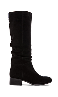 Steve Madden Pondrosa Boot in Black Suede