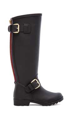 Steve Madden Dreench Rain Boot in Black