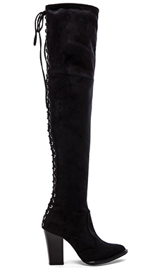 Peace Love Shea x Steve Madden Ocean Boot in Black