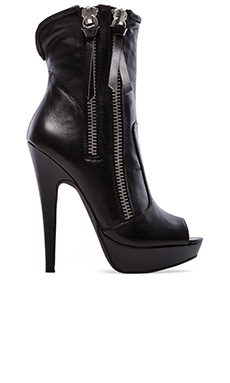 Peace Love Shea x Steve Madden Rodeo Boot in Black