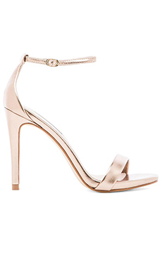 Steve Madden Stecy Heel in Dusty Gold