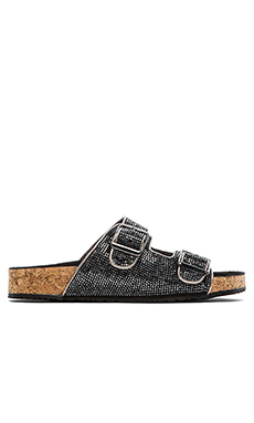 Steve Madden Rivett Sandal in Pewter Multi