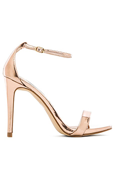Steve Madden Stecy Heel in Rose Gold