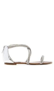 Steve Madden Zsazsa Sandal in Silver