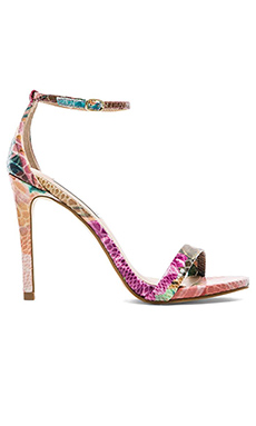 Steve Madden Stecy Heel in Floral Multi