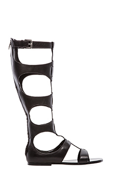 Sigerson Morrison Bodie High Gladiator in Black