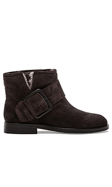 Sigerson Morrison Suna 2 Bootie with Fur in Lavagna