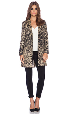 Smythe Lab Coat in Vintage Leopard