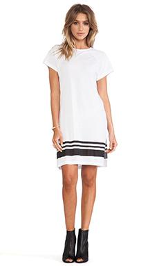 SKINGRAFT Striped Tunic in White