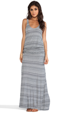 Soft Joie Wilcox Dress in Shadow & Light Smoke