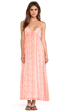 Soft Joie Siya Maxi Dress in Sandy Coral & Pebble