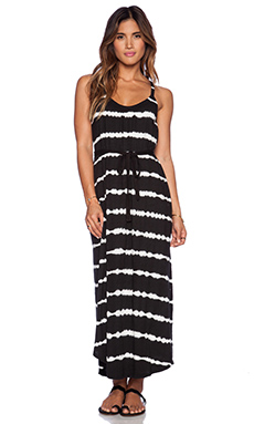 Soft Joie Laguna C Maxi Dress in Caviar & Porcelain