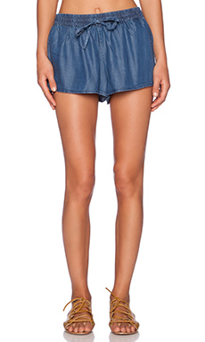 Soft Joie Ona B Short in Medium Indigo