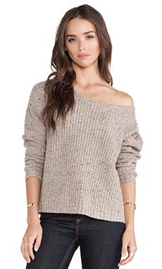 Soft Joie Amaryllis Sweater in Dark Heather Camel