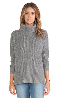 Soft Joie Lynfall Sweater in Dark Heather Grey