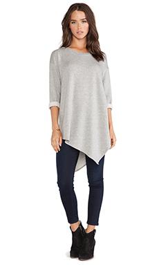 Soft Joie Tammy Sweater in Heather Grey